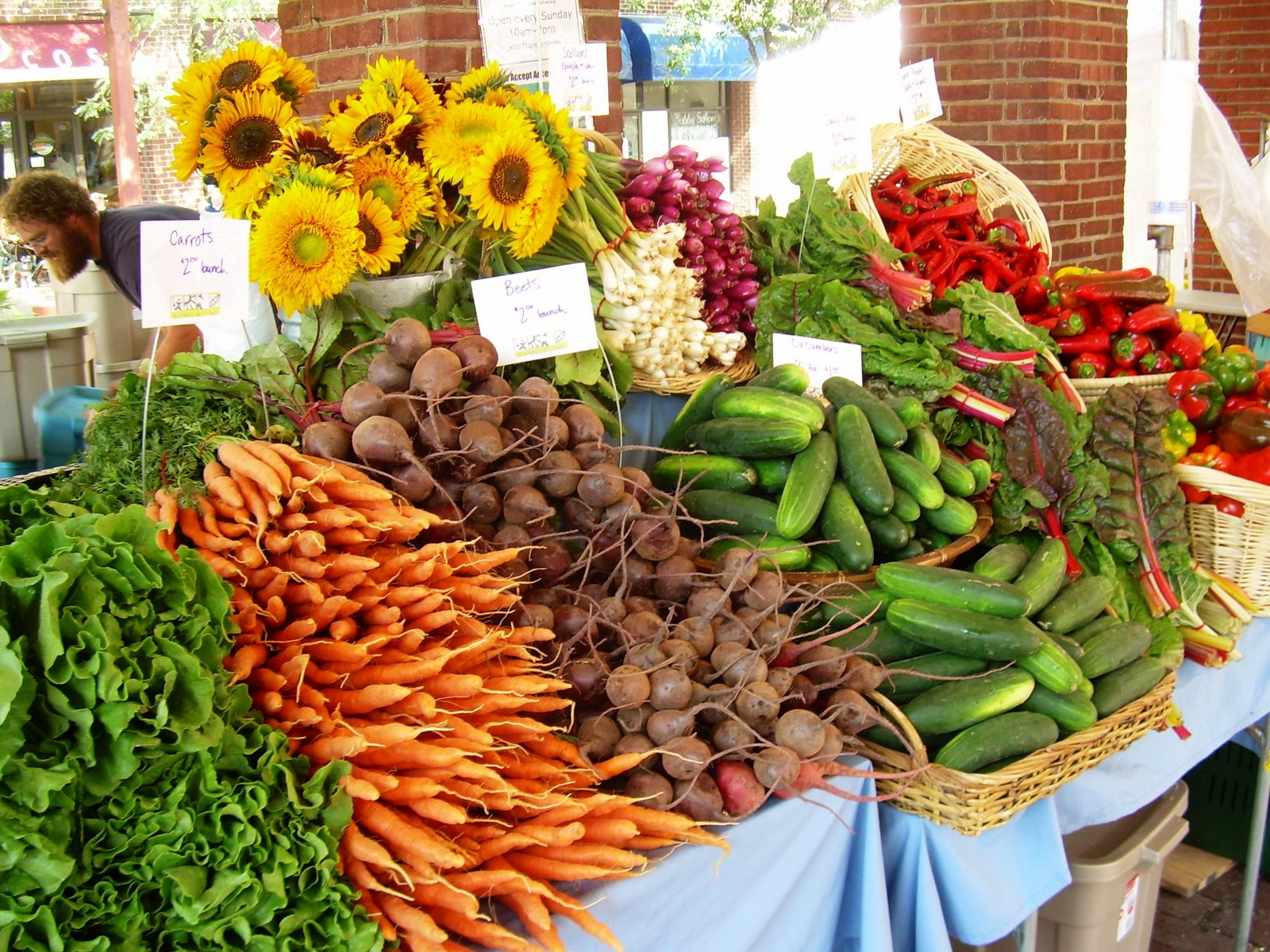 Farmers Market Gourmet Food